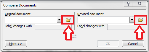 Word_Review Tab_Compare_Combine Documents